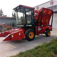 自走式的青儲飼料機 玉米青貯機