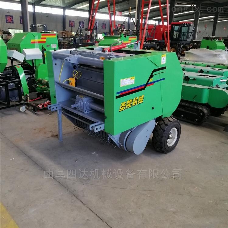 9YJ50-80-带除尘回收秸秆捡拾捆草捆机