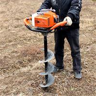多功能螺旋打洞机 开荒植树挖坑机批发