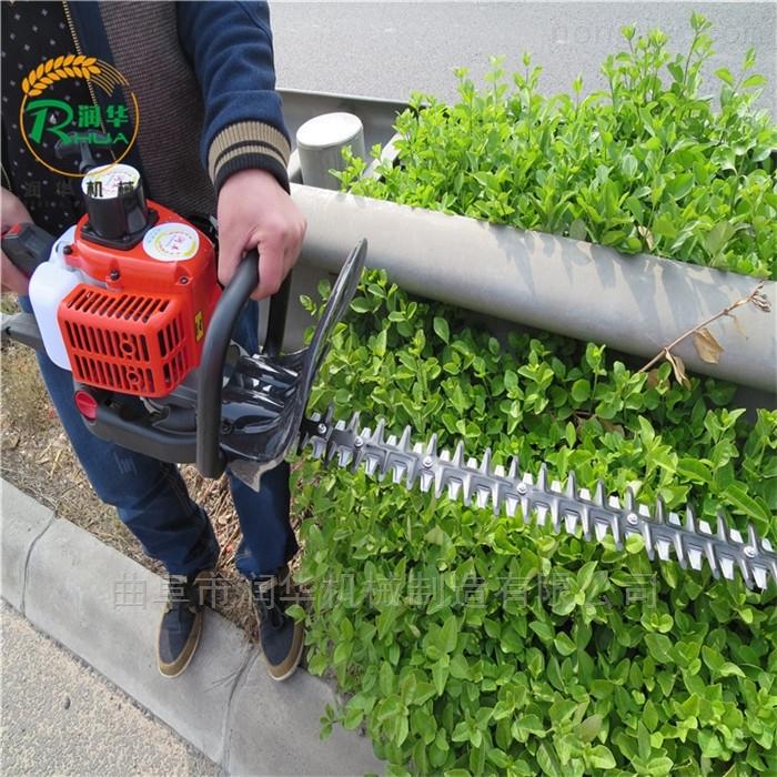 金銀花修剪汽油綠籬機 灌木叢雙面修剪機