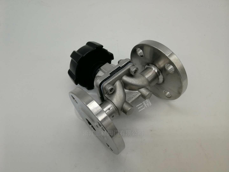 不锈钢卫生级焊接隔膜阀