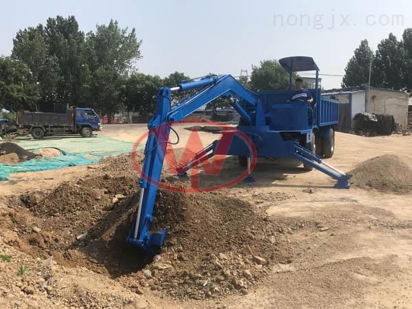 小型挖掘机随车挖 改装随车吊