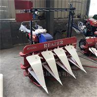 侧倒式玉米秸秆割晒机 一机多用四轮收割机