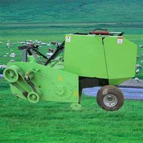 xnjx-dkbmj行走式玉米秸秆捡拾粉碎打捆机