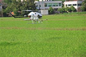 無人直升機農用噴灑裝備