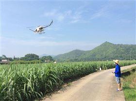 超低空农业植保喷药无人直升机