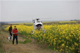 油动喷洒植保无人机