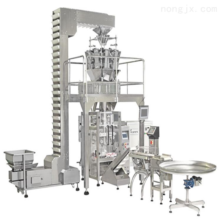 420系列大型立式电子秤饲料自动打包包装机