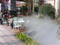 广州碧桂园大院喷雾造景