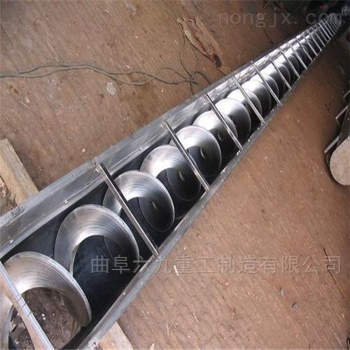 无轴式湿料输送机 不锈钢给料机Lj1