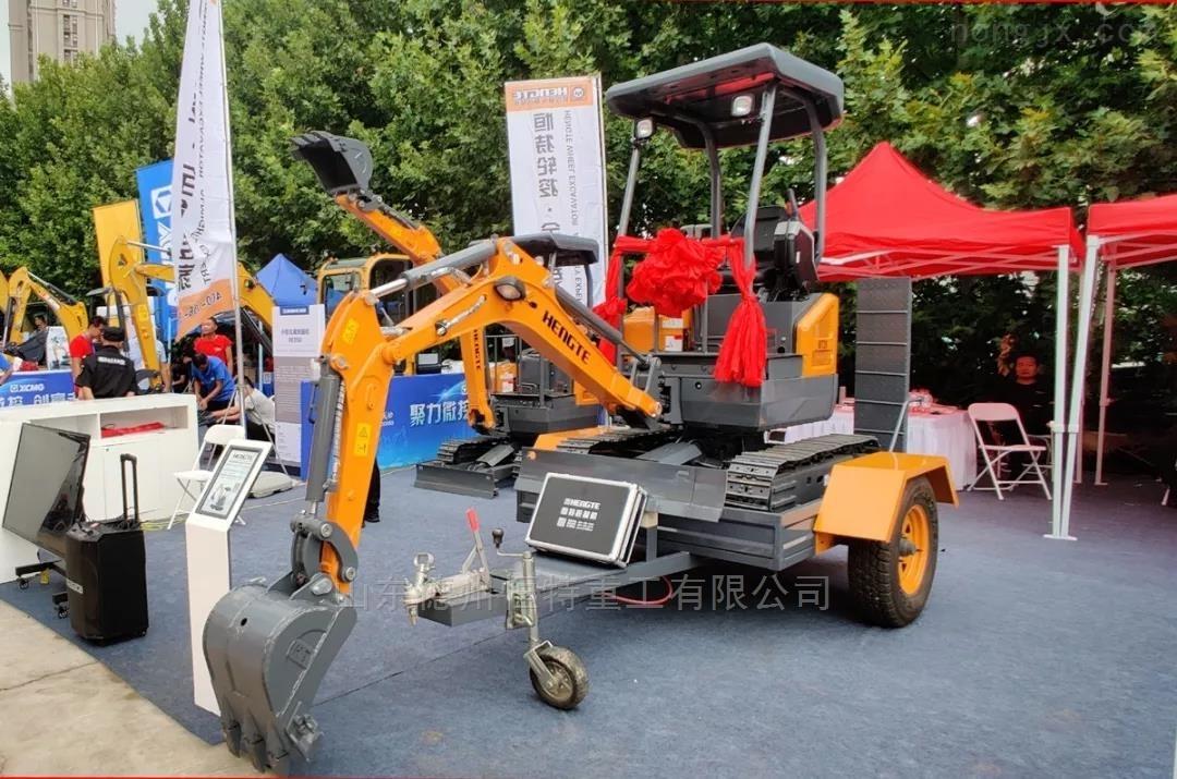 农田用挖掘机-HT20全液压履带式