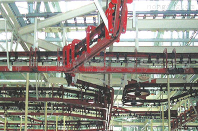 WWJ宽推杆积放式悬挂输送机