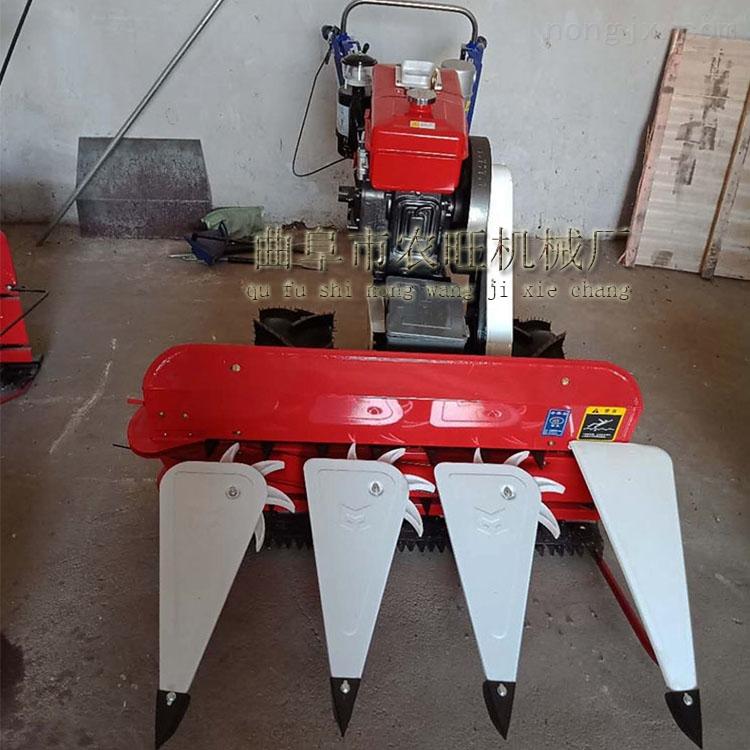 手推式多功能汽油收割机 小型前置式割晒机