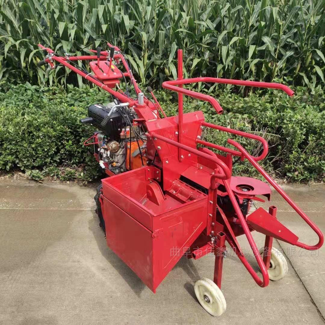 玉米秸稈還田機 手扶式單行玉米收獲機價格