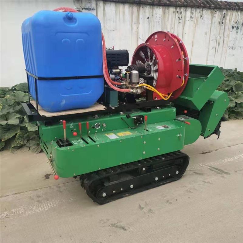 柴油机带动旋耕除草机  果园多用途开沟机
