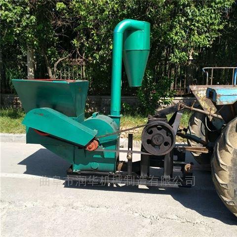 青贮玉米秸秆粉草机 牧草捆全自动粉碎机