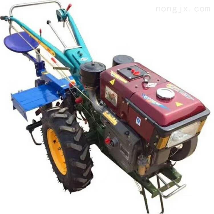 15马力手扶拖拉机带旋耕机座椅