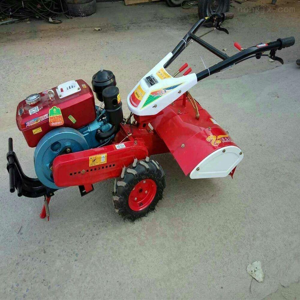 柴油四驱后旋微耕机 小型果园耕地机