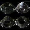 多种可选矿用管件  PE管材异径对接头
