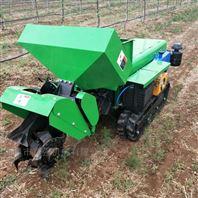 多功能双履带式田园管理机低矮挖沟回填机