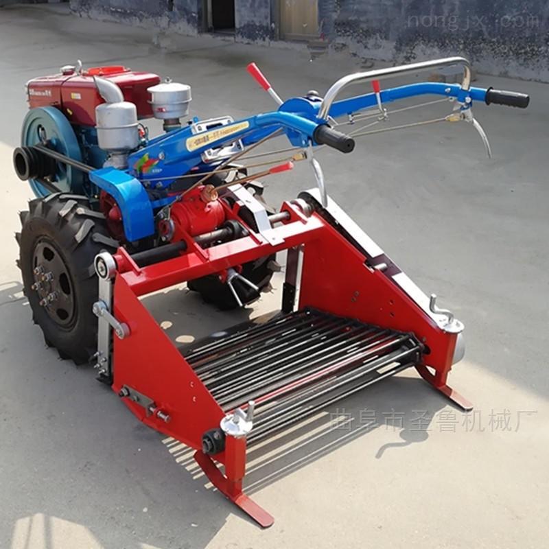 手扶红薯收获机单行起地瓜土豆机器