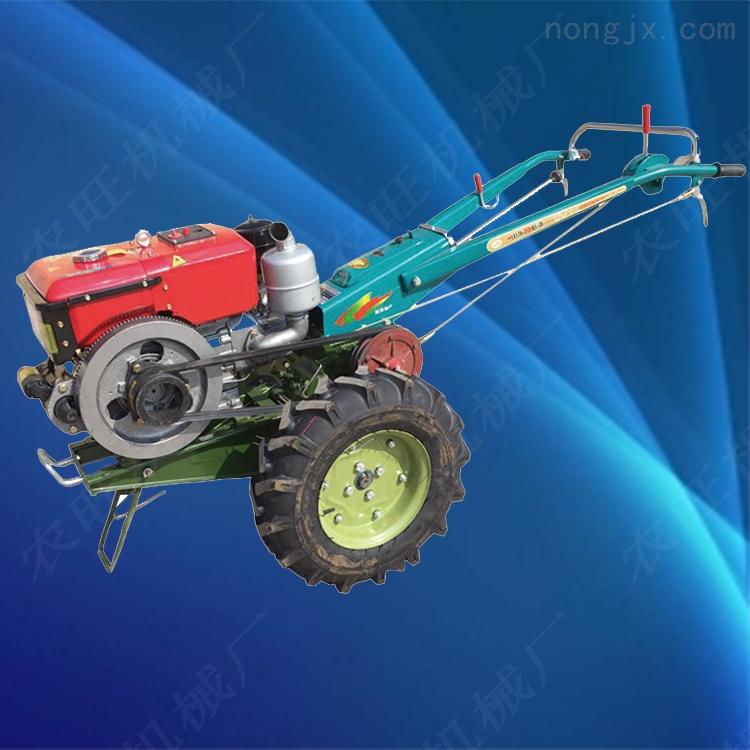 农用果园旋耕犁地机 大马力柴油水冷手扶拖拉机