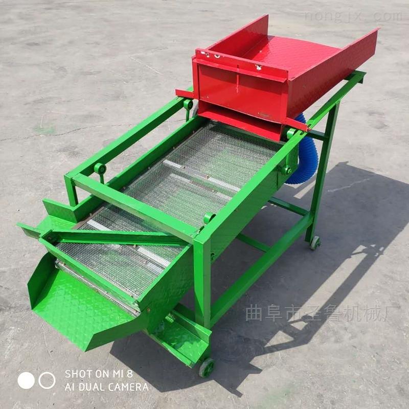 辽宁农用大豆粮食清选机小型单相电筛选机
