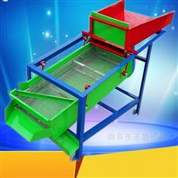 两相电高粱玉米粮食清选机小型振动筛