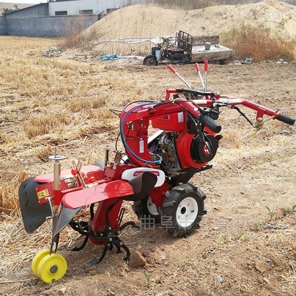河北大棚种土豆开沟培土机