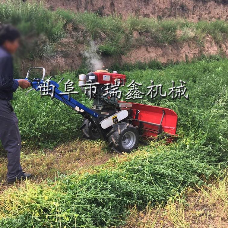 大豆辣椒牧草收割机
