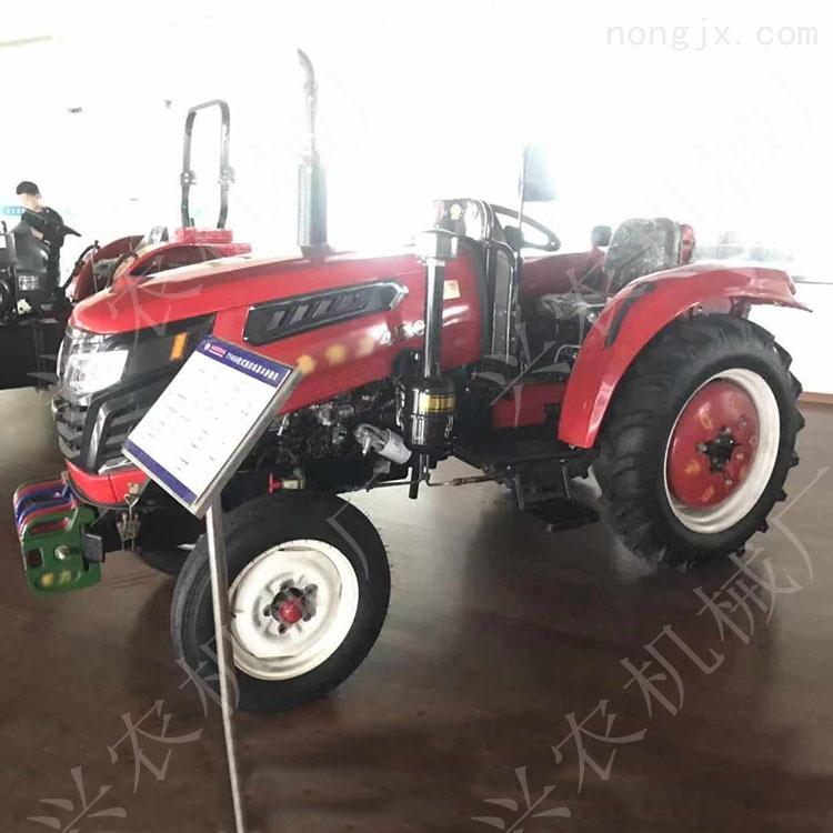 新疆低矮型四輪拖拉機 山地丘陵旋耕機