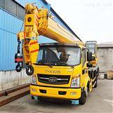 供应12吨凯马吊车小型农用汽车起重机价格