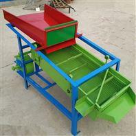 电动粮食清选机水稻两层筛选机