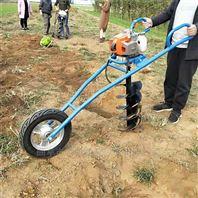 四轮带动栽树打坑机 螺旋植树打洞机批发价