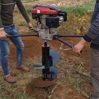 四冲程便携植树打坑机 多功能螺旋打洞机