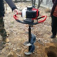 单双人可操作打洞机 多功能汽油挖坑机