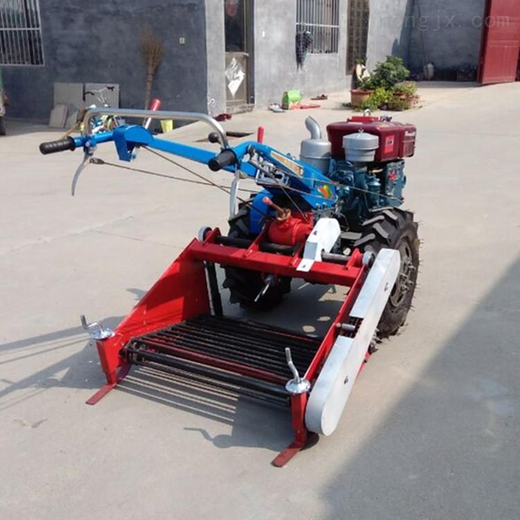 山地手扶车带地瓜收割机 土豆收获挖掘机