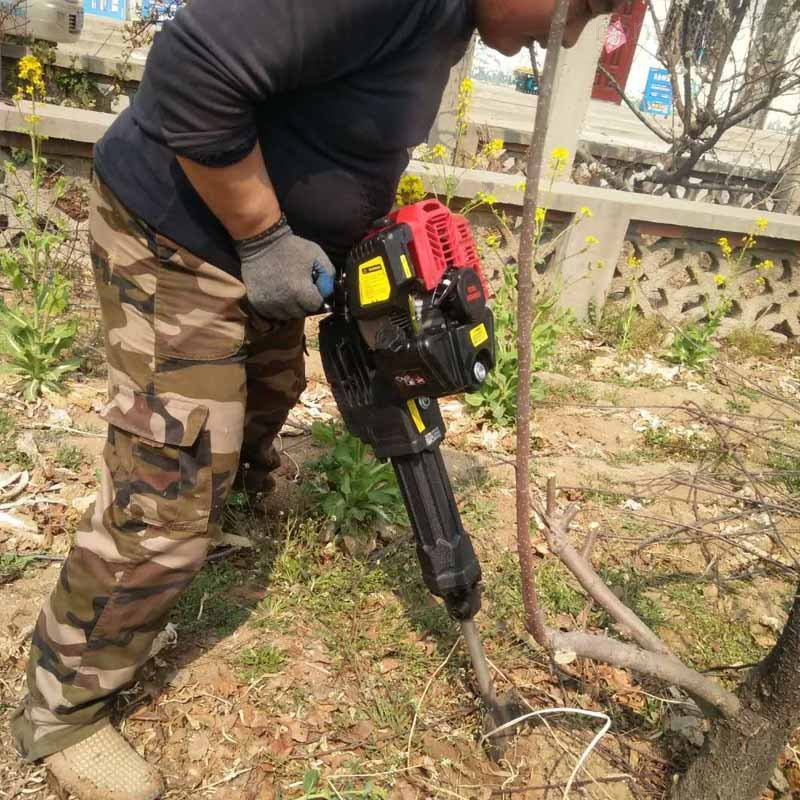 手提式锯齿挖树机铲头带土球移栽机