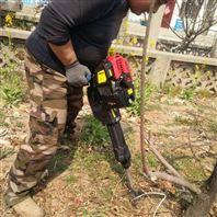 苗圃專用鏈條式起樹機 新款便攜式挖樹機