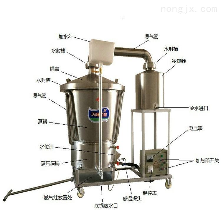 天阳生料酿酒设备