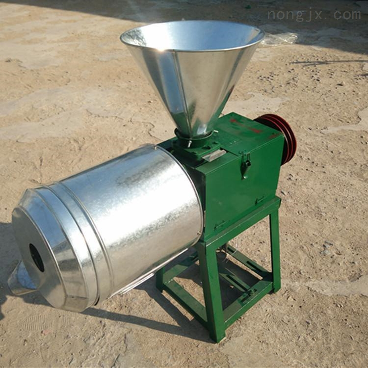 麦麸玉米谷物小型粉碎机自吸式磨面机