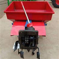 农用葡萄埋藤机手扶大马力追肥自动埋土机
