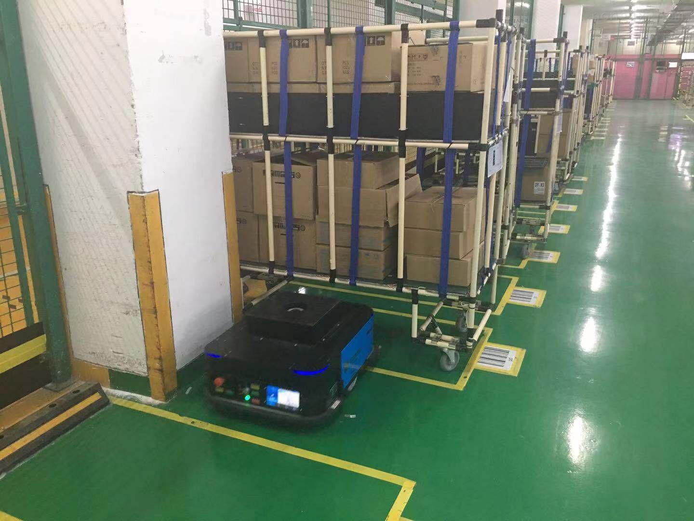 搬运机器人物流应用系统