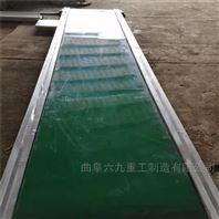 食品带铝型材输送机 PVC带式流水线Lj1