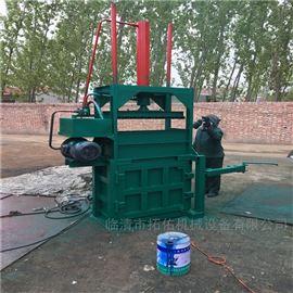 ZYD-10立式编织袋打包机 棉花自动上料液压机