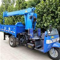 3吨多功能三轮吊农用小空间移树背树随车吊