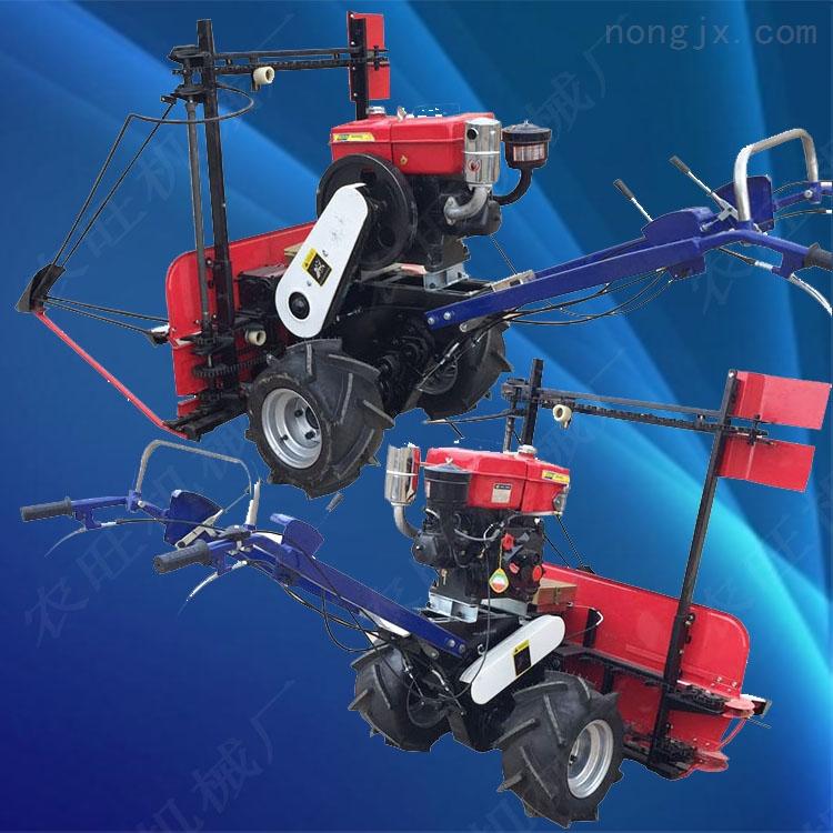 小型苜蓿草割晒机 手扶式农作物收割机