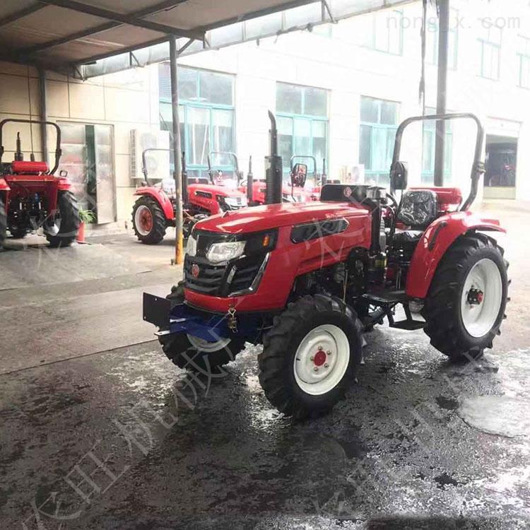农用604多功能四驱拖拉机 土壤耕整旋耕四轮拖拉机