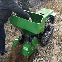 科陽履帶式甘蔗地種植培土開溝機