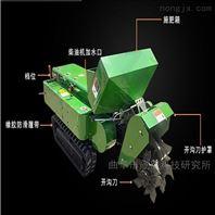 果园柴油32马力履带式开沟机定制